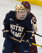 Cam Morrison (Notre Dame - 26), Michael Kim (BC - 4) - The Boston College Eagles defeated the University of Notre Dame Fighting Irish 6-4 (EN) on Saturday, January 28, 2017, at Kelley Rink in Conte Forum in Chestnut Hill, Massachusetts.The Boston College Eagles defeated the University of Notre Dame Fighting Irish 6-4 (EN) on Saturday, January 28, 2017, at Kelley Rink in Conte Forum in Chestnut Hill, Massachusetts.