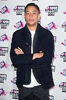 Loyle Carner at the VO5 NME Awards 2018 at the Brixton Academy, London, UK. <br /> 14 February  2018<br /> Picture: Steve Vas/Featureflash/SilverHub 0208 004 5359 sales@silverhubmedia.com