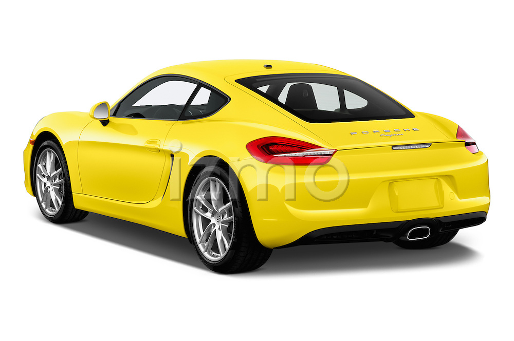 Car pictures of rear three quarter view of 2016 Porsche Cayman 3 Door Coupe Angular Rear
