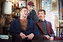 "American Buffalo by David Mamet, directed by Daniel Evans. With John Goodman as Don Dubrow, Tom Sturridge as Bob, Damian Lewis as Walter ""Teach"" Cole. Opens at Wyndams Theatre  on 27/4/15. CREDIT Geraint Lewis"