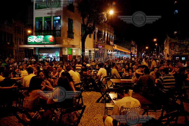 Nightlife in the Lapa neighbourhood.