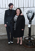 NEW YORK, NY - DECEMBER 9: Michael Gracey, Keala Settle pictured as the cast of The Greatest Showman attend the Empire State Building in New York City on December 9, 2017. Credit: RW/MediaPunch /nortephoto.com NORTEPHOTOMEXICO