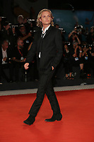 """VENICE, ITALY - SEPTEMBER 02: Tom Glynn-Carney attends """"The King"""" red carpet during the 76th Venice Film Festival at Sala Grande on September 02, 2019 in Venice, Italy. (Photo by Marck Cape/Inside foto)<br /> Venezia 02/09/2019"""
