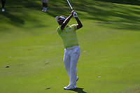Thongchai Jaidee (THA) on the 10th during Round 3 of the Maybank Malaysian Open at the Kuala Lumpur Golf & Country Club on Saturday 7th February 2015.<br /> Picture:  Thos Caffrey / www.golffile.ie
