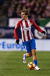 Antoine Griezmann of Atletico de Madrid in action during their La Liga match between Atletico de Madrid and Real Madrid at the Vicente Calderón Stadium on 19 November 2016 in Madrid, Spain. Photo by Diego Gonzalez Souto / Power Sport Images