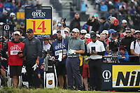 Louis Oosthuizen (RSA) during Round One of the 148th Open Championship, Royal Portrush Golf Club, Portrush, Antrim, Northern Ireland. 18/07/2019. Picture David Lloyd / Golffile.ie<br /> <br /> All photo usage must carry mandatory copyright credit (© Golffile | David Lloyd)