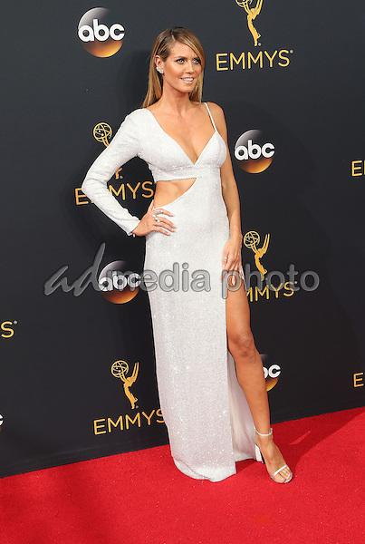 18 September 2016 - Los Angeles, California - Heidi Klum. 68th Annual Primetime Emmy Awards held at Microsoft Theater. Photo Credit: AdMedia