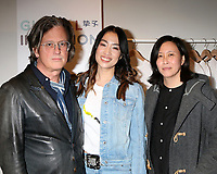 LOS ANGELES - FEB 18:  John Frierson, Yizhou, Kim Yutani at the Global Intuition Campaign Launch hosted by Yizhou at Fred Segal Sunset on February 18, 2019 in West Hollywood, CA