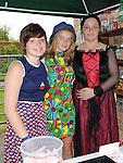 Elisha Hillman, Ciara O'Callaghan and Anita Lynch pictured at the Fair on the green in Duleek. Photo: www.pressphotos.ie