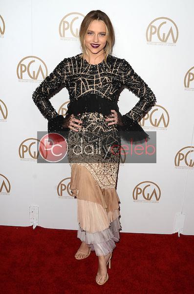 Teresa Palmer<br /> at the 2017 Producers Guild Awards, Beverly Hilton Hotel, Beverly Hills, CA 01-28-17<br /> David Edwards/DailyCeleb.com 818-249-4998