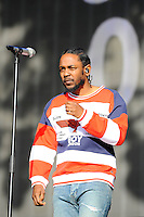 LONDON, ENGLAND - JULY 2: Kendrick Lamar performing at British Summertime, Hyde Park on July 2, 2016 in London, England.<br /> CAP/MAR<br /> &copy;MAR/Capital Pictures /MediaPunch ***NORTH AND SOUTH AMERICAS ONLY***