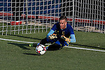 Spanish Adrian San Miguel durign the first training of the concentration of Spanish football team at Ciudad del Futbol de Las Rozas before the qualifying for the Russia world cup in 2017 August 29, 2016. (ALTERPHOTOS/Rodrigo Jimenez)