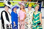 Attending the Ladies Day at the Listowel Races on Sunday.<br /> L to r: Grace Flynn (Limerick), Cathy Troth (Firies), Tasha O'Connor (Templeglantine), Jordana Lambadarios (Templeglantine) and Stacy O'Leary (Kilcummin).