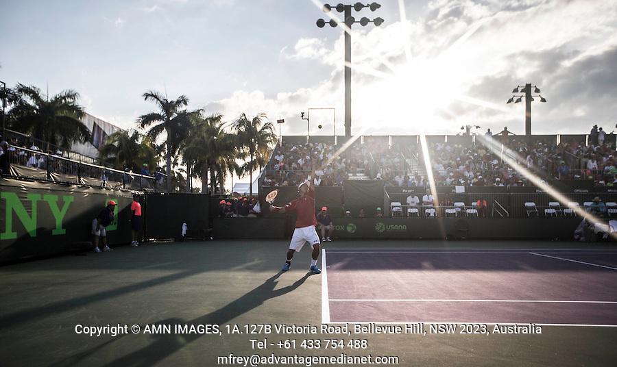 KEI NISHIKORI (JPN)<br /> Tennis - Sony Open - ATP-WTA -  Miami -  2014  - USA  -  21 March 2014. <br /> &copy; AMN IMAGES