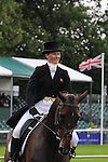 Sara Burdess riding Carlingford Shiver during the dressage phase of the 2012 Land Rover Burghley Horse Trials in Stamford, Lincolnshire