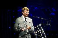 SURFERS PARADISE, Queensland/Australia (Friday, March 1, 2013) Adrian Buchan (AUS). - The world's best surfers congregated last night at the QT Hotel in Surfers Paradise to celebrate the 2013 ASP World Surfing Awards, officially crowning last year's ASP World Champions and welcoming in the new year..Joel Parkinson (AUS), 31, long considered to be a threat to the ASP World Title ever since his inception amongst the world's elite over a decade ago, was awarded his maiden crown last night. Amidst a capacity crowd of the world's best surfers and hometown supporters, the Gold Coast stalwart brought the house down with a heartfelt and emotional speech..?It's beautiful to have everyone here tonight,? Parkinson said. ?We all come together and really celebrate last season amongst our friends and family. The new year, for me, begins tomorrow. Tonight, I just feel so fortunate to be up here and to be supported by my beautiful family. I love them and am only here because of them.?.FULL LIST OF AWARDS' RECIPIENTS:.2012 ASP World Champion: Joel Parkinson (AUS).2012 ASP World Runner-Up: Kelly Slater (USA).2012 ASP Rookie of the Year: John John Florence (HAW).2012 ASP Women's World Champion: Stephanie Gilmore (AUS).2012 ASP Women's World Runner-up: Sally Fitzgibbons (AUS).2012 ASP Women's Rookie of the Year: Malia Manuel (HAW).2012 ASP Breakthrough Performer: Sebastian Zietz (HAW).2012 ASP Women's Breakthrough Performer: Lakey Peterson (USA).2012 ASP World Longboard Champion: Taylor Jensen (USA).2012 ASP Women's World Longboard Champion: Kelia Moniz (HAW).2012 ASP World Junior Champion: Jack Freestone (AUS).2012 ASP Women's World Junior Champion: Nikki Van Dijk (AUS).ASP Life Member/Chairman Emeritus: Richard Grellman.ASP Service to the Sport: Randy Rarick.Peter Whittaker Award: Adrian Buchan.2012 ASP Men's Heat of the Year (Fan Vote): Mick Fanning (AUS) vs. Kelly Slater (USA) - Rip Curl Pro Bells Beach.2012 ASP Women's Heat of the Year (Fan Vote): Laura Enever (AUS) vs. Tyler Wrig