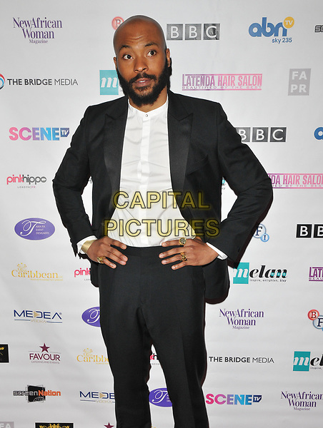 Arinze Kene at the 12th Annual Screen Nation Film &amp; Television Awards 2017, Park Plaza Riverbank Hotel, Albert Embankment, London, England, UK, on Sunday 07 May 2017.<br /> CAP/CAN<br /> &copy;CAN/Capital Pictures