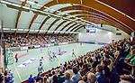 Stockholm 2014-09-18 Handboll Elitserien Hammarby IF - IFK Sk&ouml;vde :  <br /> Vy &ouml;ver Eriksdalshallen under matchen med publik p&aring; l&auml;ktarna mellan Hammarby och Sk&ouml;vdes i elitserien i handboll<br /> (Foto: Kenta J&ouml;nsson) Nyckelord:  Eriksdalshallen Hammarby HIF HeIF Bajen IFK Sk&ouml;vde inomhus interi&ouml;r interior supporter fans publik supporters
