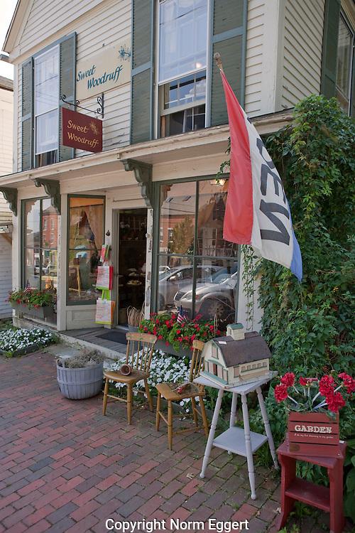 Antique store in Wiscasset, Maine