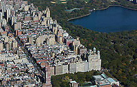 aerial photograph Upper West Side, Central Park, Manhattan, New York City