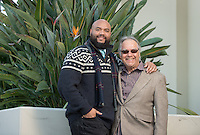 La Mont Terry, Associate Professor, Education and Ronald Solórzano, Professor, Education; Affiliated Faculty, Latino/a and Latin American Studies, photographed Dec. 20, 2016 at Booth Hall.<br /> (Photo by Marc Campos, Occidental College Photographer)