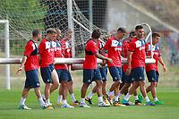 Getafe CF's players during training session. August 1,2017.(ALTERPHOTOS/Acero) /NortePhoto.com