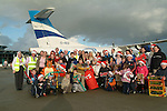 SANTA ARRIVES IN HIS KINGDOM....<br />