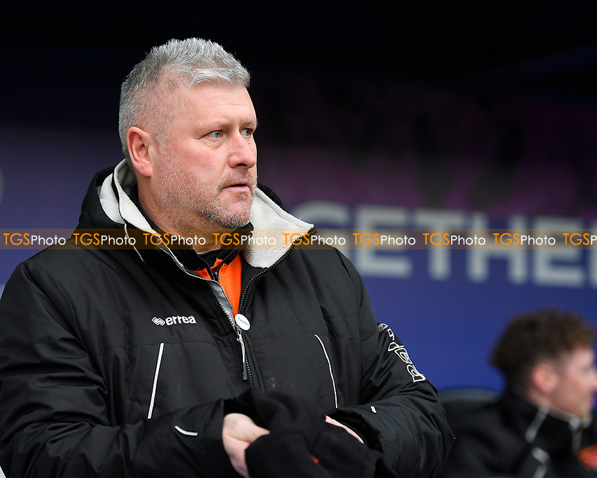 Blackpool Manager Terry McPhillips during Portsmouth vs Blackpool, Sky Bet EFL League 1 Football at Fratton Park on 12th January 2019