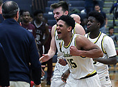 Hazel Park at Clarkston, Boys Varsity Basketball, 3/1/18