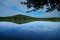 Clouds Over Whitney Lake, Adirondack Forest Preserve, New York