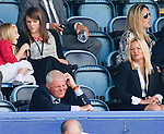 A disconsolate Walter Smith watches from the directors box