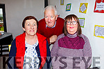 Enjoying the launch of Sandy Feet Farm in Camp on Thursday afternoon which was filmed by RTE's At Your Service with Francis Brennan were: Ann and Tony Hehir with Maria Howell.