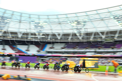 July 23rd 2017; London Stadium, East London, England; World Para Athletics Championships;  Men's 5000m T54 final