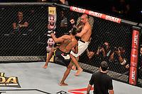RIO DE JANEIRO, RJ, 01.08.2015 - UFC-RJ - O lutador Iuri Marajó vence Leandro Issa no UFC 190: Rousey vs. Correia, na HSBC Arena, na zona oeste, neste sábado (01). (Foto: João Mattos / Brazil Photo Press)