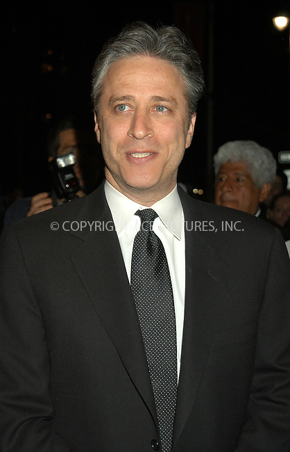 WWW.ACEPIXS.COM . . . . .  ....NEW YORK, APRIL 19, 2005....Jon Stewart at the Time 100 Dinner celebrating Time Magazine's 100 Most Influential People Issue held at Time Warner Center.....Please byline: KRISTIN CALLAHAN - ACE PICTURES.... *** ***..Ace Pictures, Inc:  ..Craig Ashby (212) 243-8787..e-mail: picturedesk@acepixs.com..web: http://www.acepixs.com