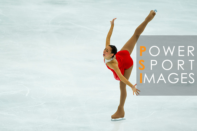 TAIPEI, TAIWAN - JANUARY 25:  Brooklee Han of Australia performs her routine at the Ladies Free Skating event during the Four Continents Figure Skating Championships on January 25, 2014 in Taipei, Taiwan.  Photo by Victor Fraile / Power Sport Images *** Local Caption *** Brooklee Han