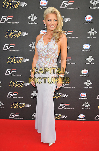 LONDON, ENGLAND - JULY 01: Claire Caudwell attends the Grand Prix Ball, The Hurlingham Club, Ranelagh Gardens, on Wednesday July 01, 2015 in London, England, UK. <br /> CAP/CAN<br /> &copy;CAN/Capital Pictures