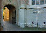 Garden Archway, Onze-Lieve-Vrouwkerk Church of Our Lady, Bruges, Brugge, Belgium