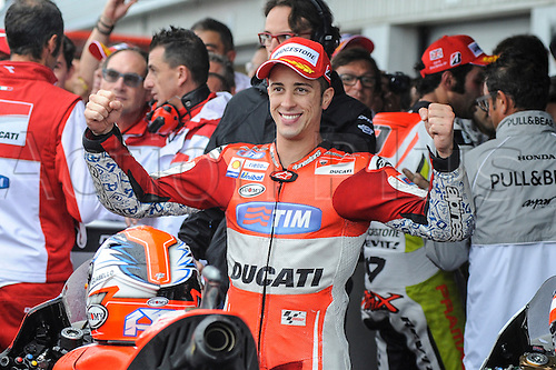 30.08.2015. Silverstone, Northants, UK. OCTO British Grand Prix. Andrea Dovizioso came in 3rd place.