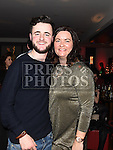 Aaron and Natalie Nelis pictured at the Boots Christmas party in Brú. Photo:Colin Bell/pressphotos.ie
