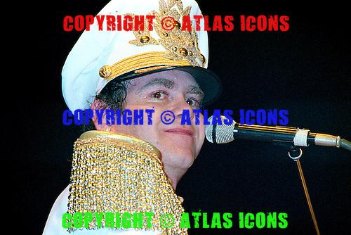 ELTON JOHN: Live: New York City: 1982:.Photo Credit: Eddie Malluk/Atlas Icons.com