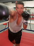 WOBURN--Pasquale DeTursi works out at the Boston Sport Boxing Club in Woburn.RESTRICTED USE.NOT FOR REPBULICATION WITHOUT EXPLICIT APPROVAL FROM DIRECTOR OF PHOTOGRAPHY