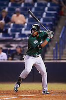 Daytona Tortugas designated hitter Reydel Medina (50) at bat during a game against the Tampa Yankees on August 5, 2016 at George M. Steinbrenner Field in Tampa, Florida.  Tampa defeated Daytona 7-1.  (Mike Janes/Four Seam Images)
