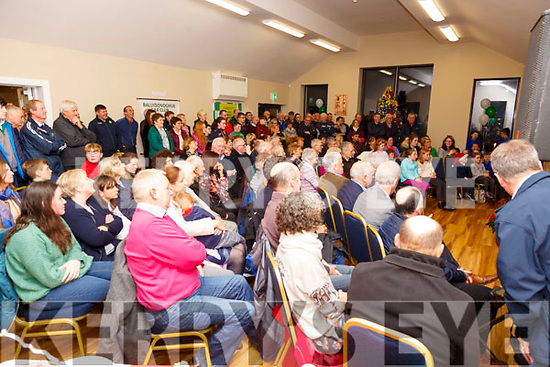 Crowd at the opening of Ballydonoghue GAA Club's new clubhouse.