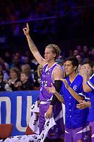 Saints&rsquo; Joshua Dunker in action during the NBL - Wellington Saints v Supercity Rangers at TSB Bank Arena, Wellington, New Zealand on Friday 5 May 2017.<br /> Photo by Masanori Udagawa<br /> www.photowellington.photoshelter.com.