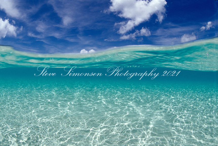 Water and Sky<br /> Hawksnet Bay, VI National Park