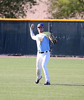 Matty Clark takes part in the 2020 Under Armour Pre-Season All-America Tournament at the Chicago Cubs training complex and Red Mountain baseball complex on January 18-19, 2020 in Mesa, Arizona (Bill Mitchell)