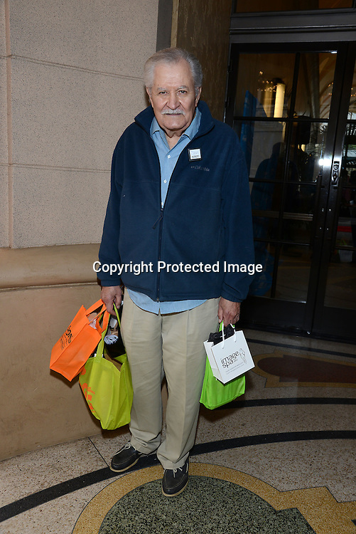 John Aniston  attends the 2015 Daytime Emmy Gifting Suite on April 25, 2015 at Warner Brothers Stuido Lot  in Burbank, California, USA. The gift lounge was presented by OffTheWallIdeas.com.