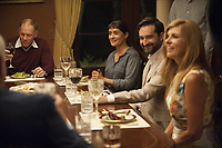 Beatriz at Dinner (2017) <br /> Salma Hayek, Connie Britton &amp; Jay Duplass<br /> *Filmstill - Editorial Use Only*<br /> CAP/MFS<br /> Image supplied by Capital Pictures