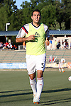 14 June 2014: Chivas USA's Martin Rivero (ARG). The Carolina RailHawks of the North American Soccer League played Chivas USA of Major League Soccer at WakeMed Stadium in Cary, North Carolina in the fourth round of the 2014 Lamar Hunt U.S. Open Cup soccer tournament. The RailHawks advanced by winning a penalty kick shootout 3-2 after the game had ended in a 1-1 tie after overtime.